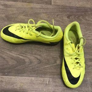 Nike's cleats